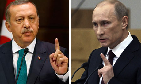 Russia-Turkey war of words escalates over downed warplane