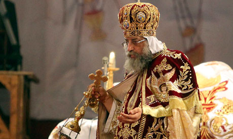 Coptic Pope Tawadros II, head of the Coptic Orthodox Church (Photo: Reuters)
