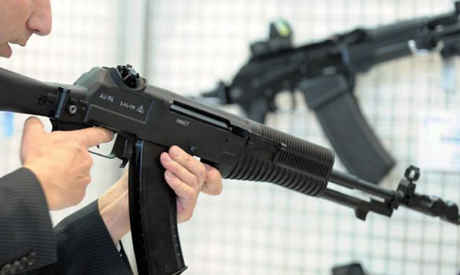 Kalashnikov rifles