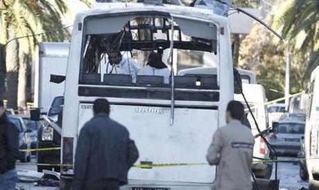 Tunisia bus
