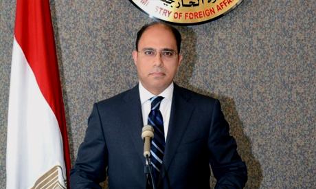 Foreign ministry spokesman Ahmed Abu Zeid (Al-Ahram)