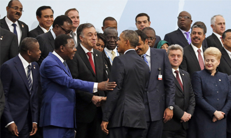 World leaders in COP 21