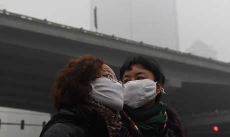 Polluted Beijing
