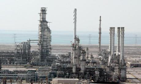 Saudi oil plant