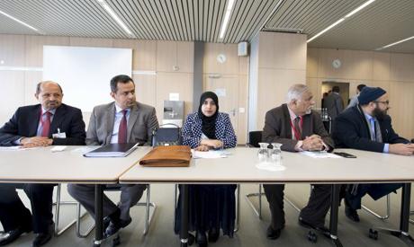 Yemen peace talks in Switzerland