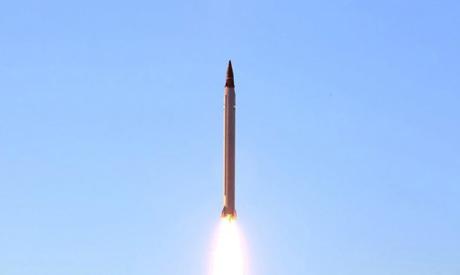 Iranian Emad rocket