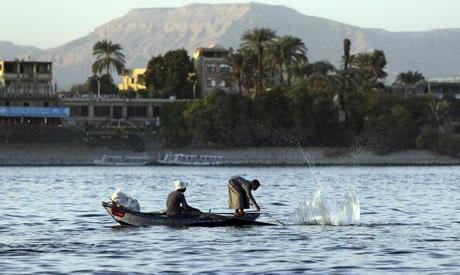 Nile in Luxor