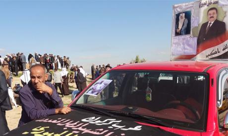 Mohammed Khalil al-Juburi funeral