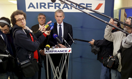 Airfrance Chief Executive Frederic Gagey