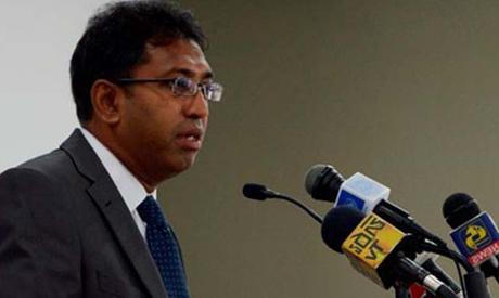 Sri Lankan acting Foreign Minister Harsha De Silva