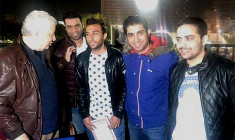 Ramzy Khaled and Mortada Mansour