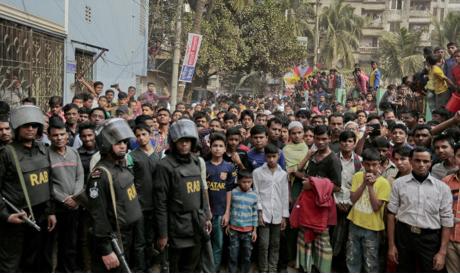 Bangladesh unrest