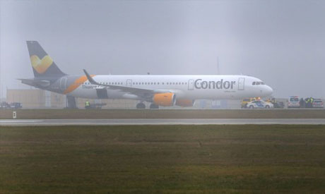 A Condor airlines Airbus A321