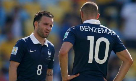 Benzema and Valbuena