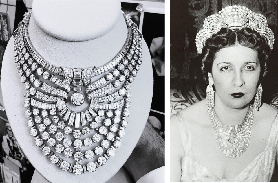 Picture Of The Day: Queen Nazli's Historic Diamond Necklace Auctioned In New York