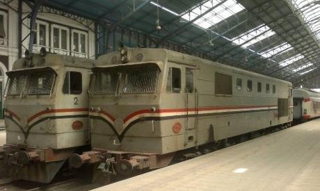 Cairo-Alexandria train