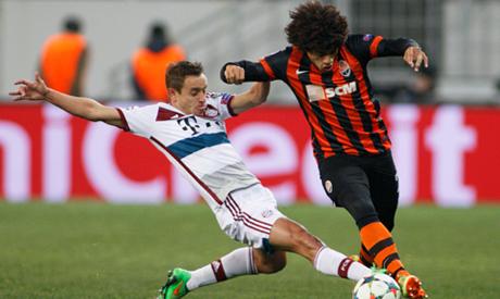 Shakhtar Donetsk vs. Bayern Munich (UEFA Champions League)