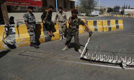 Houthi militiamen