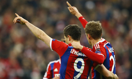 Bayern Munich dream of home final after record-equalling win