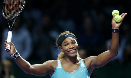 Serena Williams of the U.S.