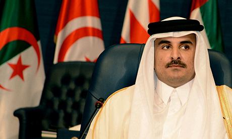 Emir of Qatar Sheik Tamim bin Hamad bin Khalifa Al Thani