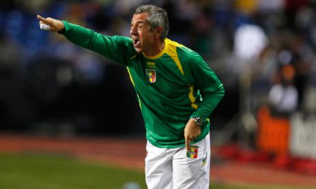 Mali head coach Alain Giresse