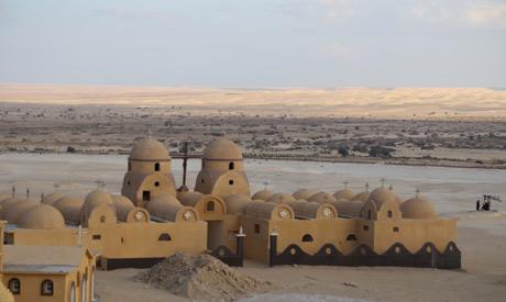 Monastery of Saint Macarius in Wadi El-Rayan
