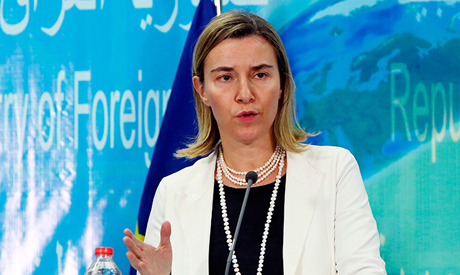 European Union Foreign Policy Chief Federica Mogherini