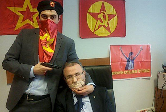 PHOTO GALLERY: Radical left‬ group kidnaps Turkish prosecutor