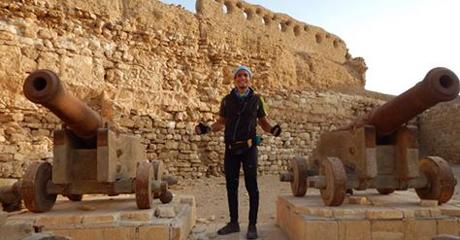 Cannons of Abu kir battle in Al Kusseir