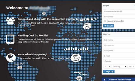 ISIS social network