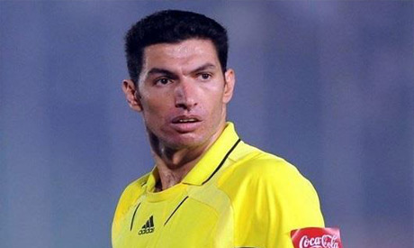 Egyptian referee Gehad Gresha