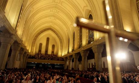 Easter midnight mass