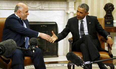 Obama, Al-Abadi