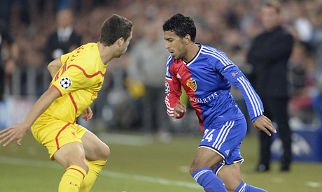 Basel's Ahmed Hamoudi