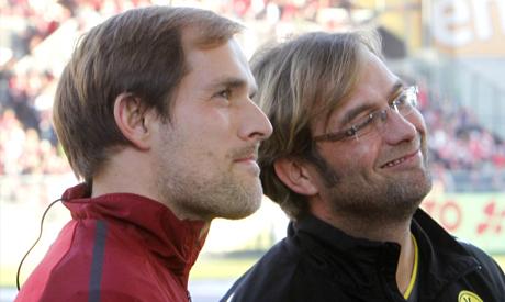 Thomas Tuchel and  Juergen Klopp