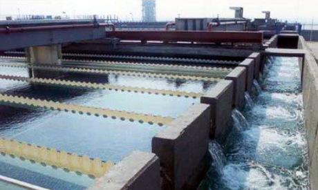 water treatment plant in Egypt