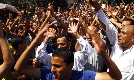 Supports of the deposed President Mohamed Morsi