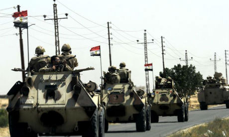 Egyptian army
