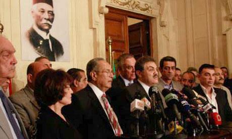Wafd leader El-Sayed El-Badawi