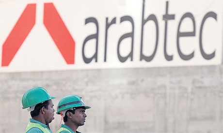 Arabtec Holding, the largest construction firm in the UAE by market capital.(photo: Reuters)