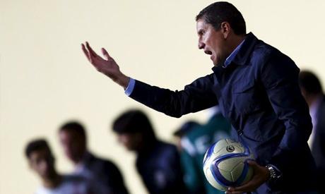 Spanish coach Juan Carlos Garrido