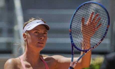Maria Sharapova from Russia