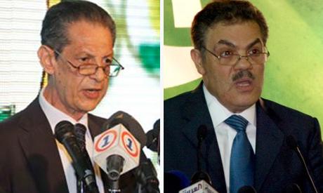 Sayed EL-Badouy and Fouad Badrawy