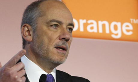 French telecom operator Orange Chairman and CEO Stephane Richard