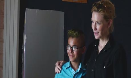 Cate Blanchett and Ahmad