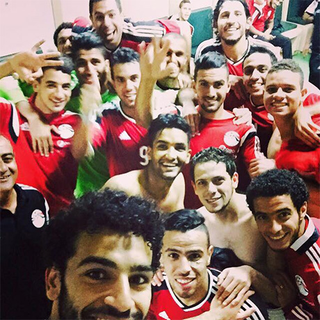 Egypt players
