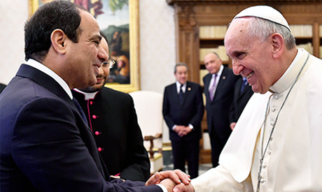 Sisi and Pope Francis