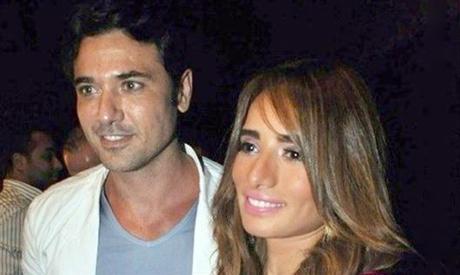 Ahmed Ezz and Zeina
