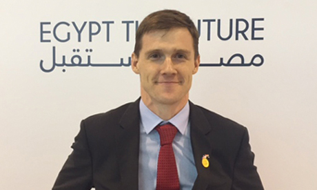 British Ambassador in Egypt John Casson (Reuters)